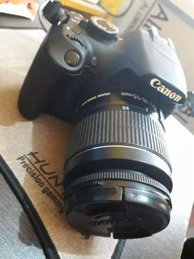 Canon 1200d with 18-55 lenses  only  9 month old
