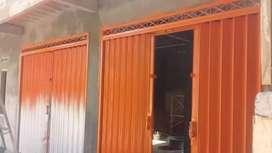 Pintu polinggad,pagar,canopi,stenlis,henderson