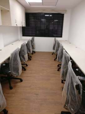 Workspace in nelson manickam road monthly rental with all amenity