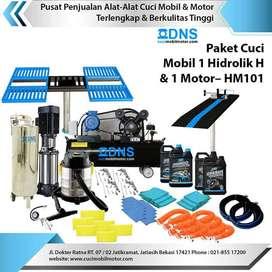 Paket Cuci Mobil 1 Hidrolik H & 1 Motor termurah terbaik bergaransi