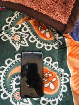 Iphone 7 plus mat black 128 gb