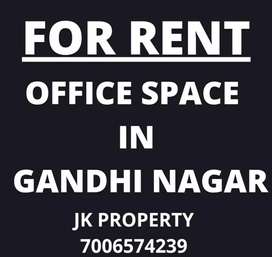 Office room on main road in Gandhi Nagar