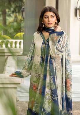 2 pcs unstitched suite shrit with duppta