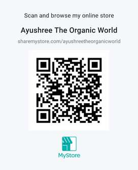 Ayushree the Organic world.