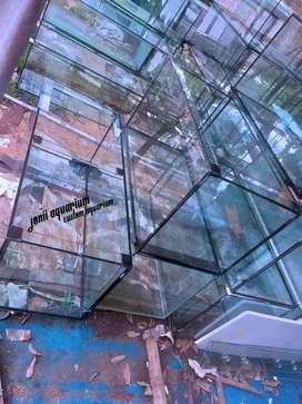 aquarium 100x50x50 kaca 10mm full