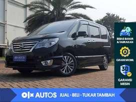 [OLXAutos] Nissan Serena 2.0 Highway Star 4x2 bensin A/T 2017 Hitam