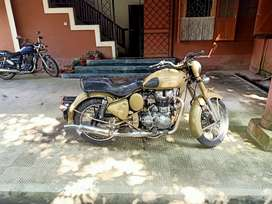 Classic 500 cc desert storm