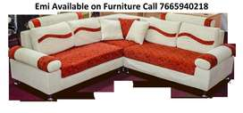 Discount Up to 40% New Sofa set 8500,L shape sofa 14000, Emi available