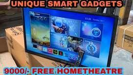 """42"""" FULL HD SMART LED FREE HOMETHEATRE 4.1 JUST RS"""