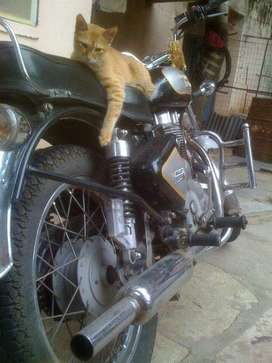 Its a petrol head owner bike so obviously well maintained
