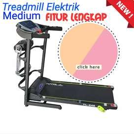 Treadmill Elektrik Fitur Lengkap Bisa COD
