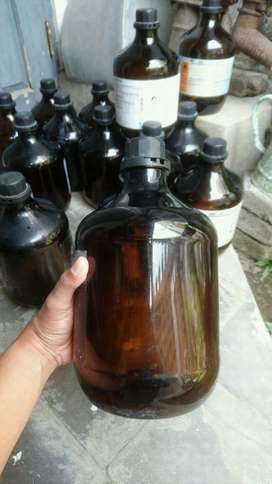 Botol Alkohol Bekas Apotek for Cafe Decor
