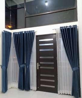 Korden Tirai Hordeng Gorden Curtain Blinds Gordyn Wallpaper Z.188he8u