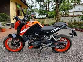 Duke 200 ABS. BS4