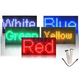 SMD SINGLE COLOR MESSAGE DISPLAY