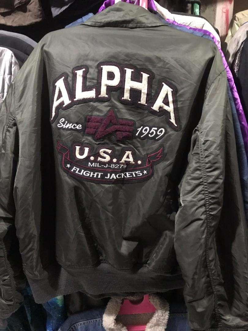 Jaket alpha ma-1 alpha flight 0