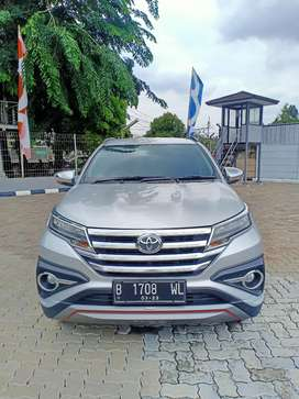 Toyota Rush S AT 2018 Silver - Free Astraworld - Terima Cash/Credit