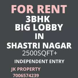 Independent house for rent in Shastri Nagar