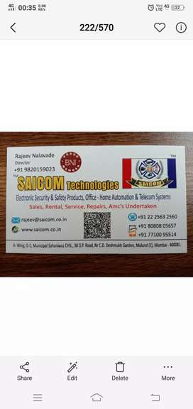 Marketing executive for electronic security & safety products.