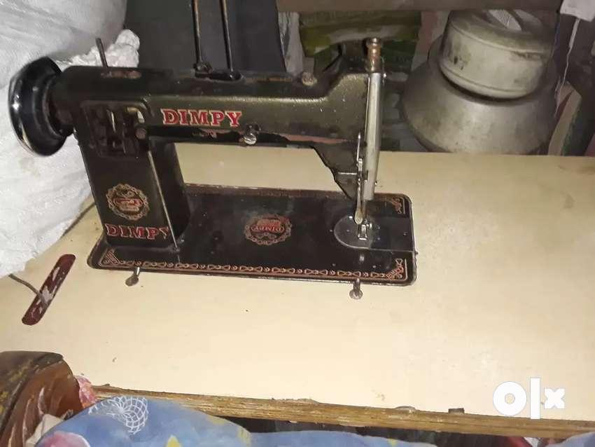 sewing machine 1 year Brand.. Dimple swing machine 0