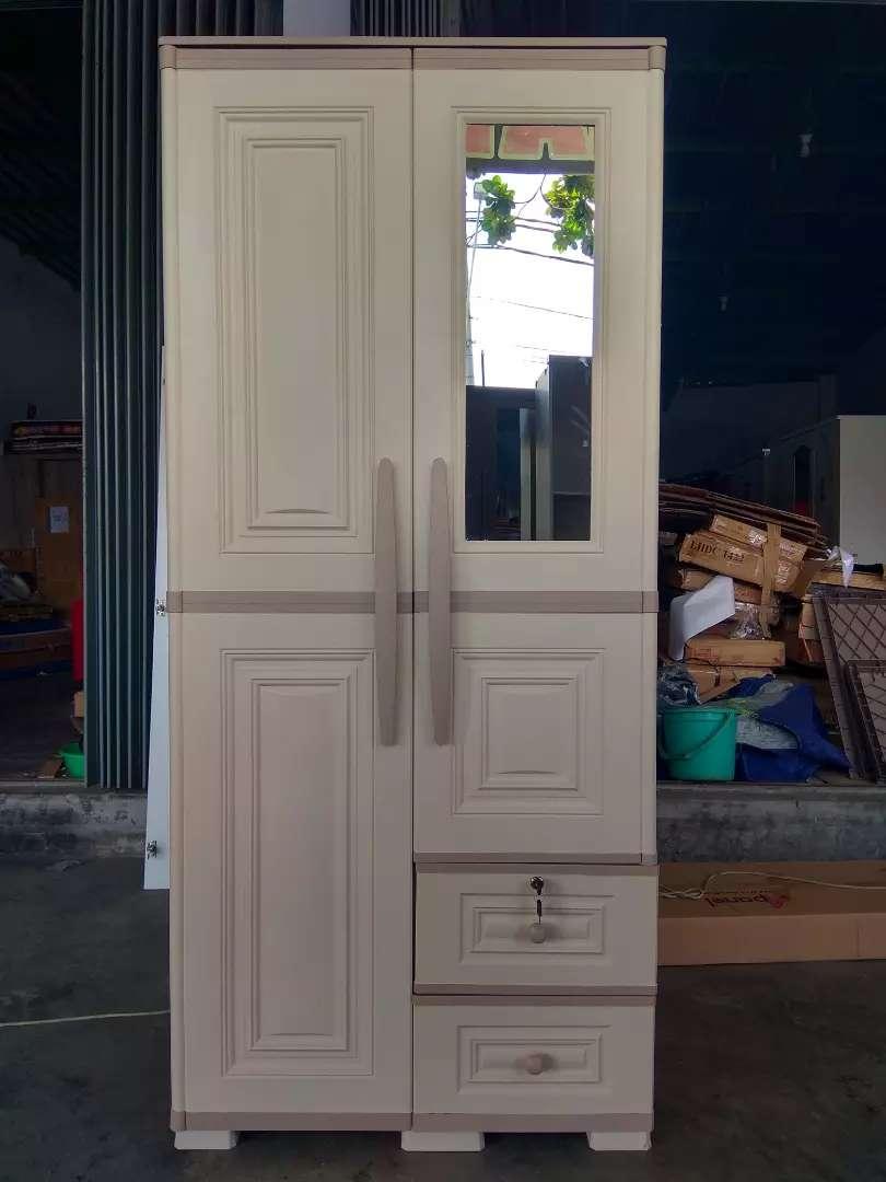 Promo Hemat !! Lemari Plastik 2 Pintu Premium Mewah nan Murah 0