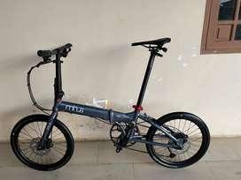 Sepeda Lipat Minus (frame)