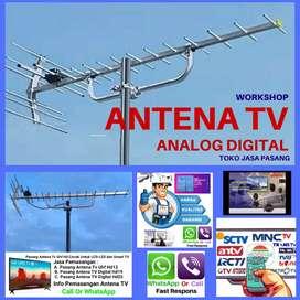 Workshop Instalasi Pasang Antena TV HDU Digital Bandung