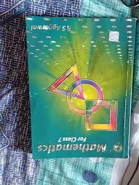 Mathematics for Class 7 RS Agarwal