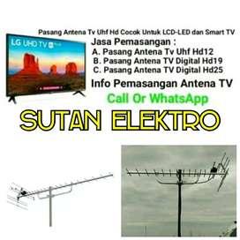 Terima pasang baru Antena TV UHF murah