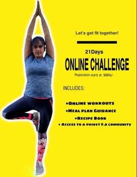 21 Days fitness Challenge
