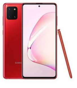 AURA RED NOTE 10 LITE/ 8gb Ram/ 128 gb With S-pen