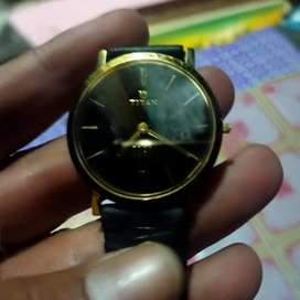Jam tangan merk TITAN EDGE ORI super Tipis