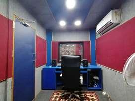 Audio recording studio for rent