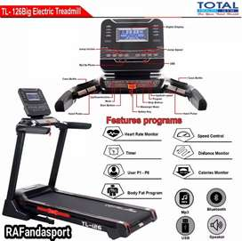 TL-126 Treadmill Elektrik Automatic Incline