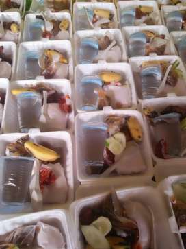 Nasi kotak/tumpeng alhamdullilah mantap lah