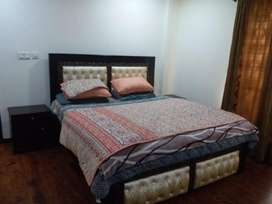1Bedroom full furnished flat avabile For rent Hight 1 Bahria town Rwp