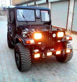 Willys jeep mahindera brand