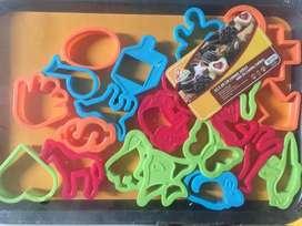 Cetakan Cookies + Tray