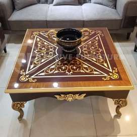 Center table high gloss finish - coffee table- living room furniture
