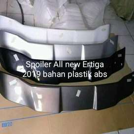 Spoiler all new Ertiga 2018/2020 dan XL 7 bahan plastik abs