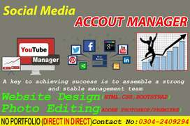 Account Manager and Editor