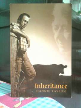 Buku / Novel inheritance . karya : Hannie Rayson .