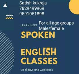 Learn spoken English at ease