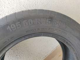 195/60/R15 tyre for sale, can fit in Honda City, Innova, Swift Zdi zxi