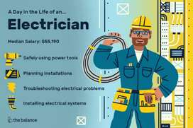 Electrician is available