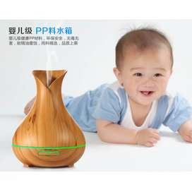 HUMI H217 Aroma Therapy Air Humidifier Wood Flower