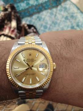 Rolex 40mm Steel And Gold 126333