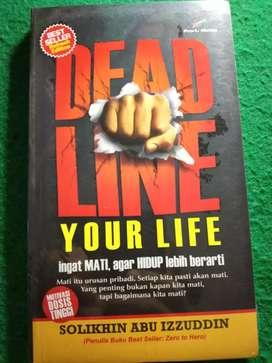 BUKU DEAD LINE YOUR LIFE