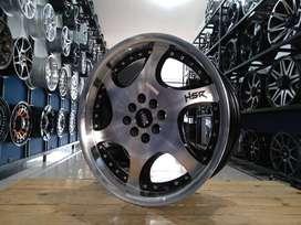 For sale velg HSR GANGNAM ring17x7,5/8,5 pcd8x100/114,3 bisa credit/TT