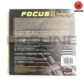 Karet Bet Ping Pong 729 Focus 3 Tenis Meja Original Murah Bagus
